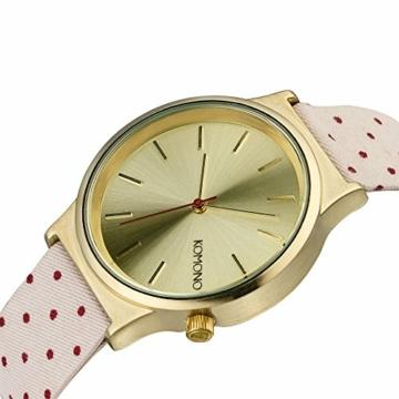 KOMONO Unisex Binär Quarz Uhr mit Stoff Armband KOM-W1837 - 2