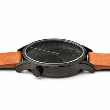 Komono Unisex-Uhr Analog Quarz mit Lederarmband – KOM-W2253 - 2