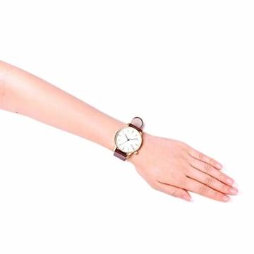 Komono Unisex-Uhr Analog Quarz mit Lederarmband – KOM-W2263 - 6