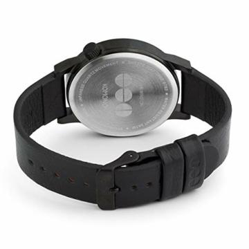 Komono Unisex-Uhr Analog Quarz mit Lederarmband – KOM-W2890 - 4