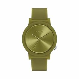 Komono Unisex-Uhren Analog Quarz One Size Grün 32015272 - 1