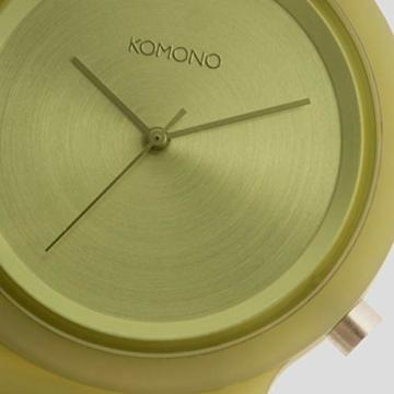 Komono Unisex-Uhren Analog Quarz One Size Grün 32015272 - 3