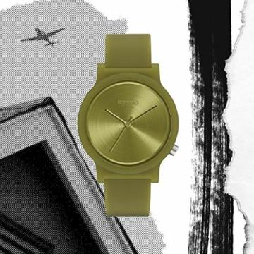 Komono Unisex-Uhren Analog Quarz One Size Grün 32015272 - 4
