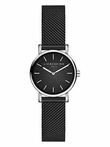 Liebeskind Berlin Damen Analog Quarz Armbanduhr mit Edelstahlarmband - 1