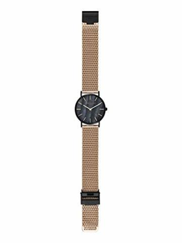 Liebeskind Berlin Damen Analog Quarz Armbanduhr mit Edelstahlarmband LT-0145-MQ - 4