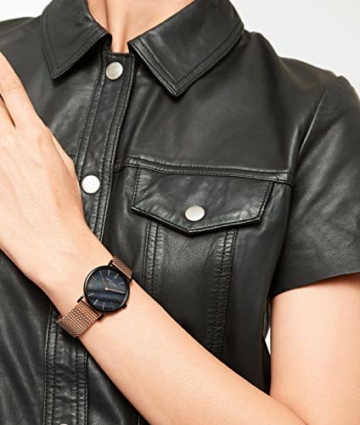 Liebeskind Berlin Damen Analog Quarz Armbanduhr mit Edelstahlarmband LT-0145-MQ - 5