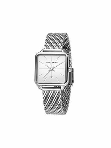 Liebeskind Berlin Damen Analog Quarz Armbanduhr mit Edelstahlarmband LT-0150-MQ - 2
