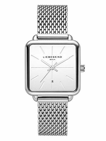 Liebeskind Berlin Damen Analog Quarz Armbanduhr mit Edelstahlarmband LT-0150-MQ - 1