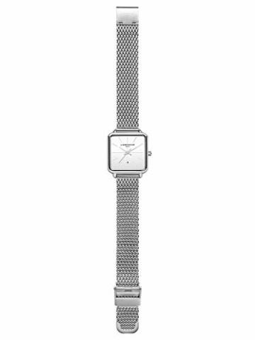 Liebeskind Berlin Damen Analog Quarz Armbanduhr mit Edelstahlarmband LT-0150-MQ - 5