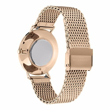 Liebeskind Berlin Damen Analog Quarz Armbanduhr mit Edelstahlarmband LT-0188-MQ - 4