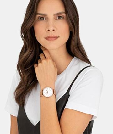 Liebeskind Berlin Damen Analog Quarz Armbanduhr mit Edelstahlarmband LT-0188-MQ - 6