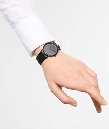 LIEBESKIND BERLIN Damen Analog Quarz Armbanduhr mit Leder Armband - 2