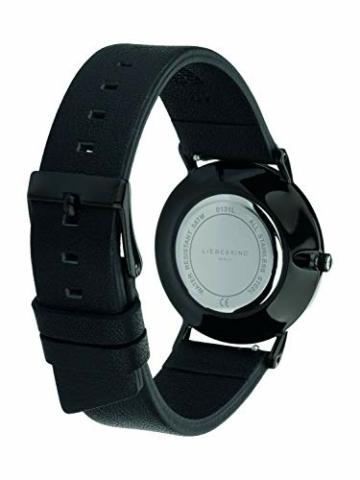 LIEBESKIND BERLIN Damen Analog Quarz Armbanduhr mit Leder Armband - 4