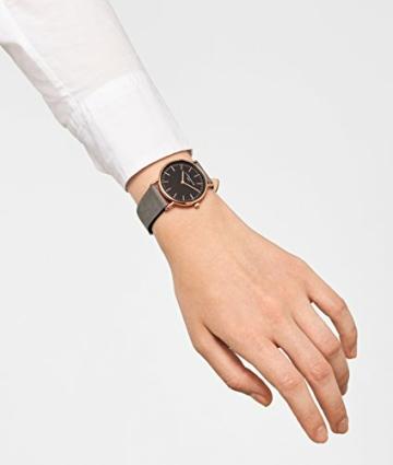 Liebeskind Berlin Damen Analog Quarz Armbanduhr mit Lederarmband LT-0094-LQ - 5
