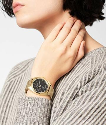 Liebeskind Berlin Damen Analog Quarz Uhr mit Edelstahl Armband - 4