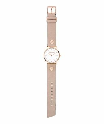 Liebeskind Berlin Damen Analog Quarz Uhr mit Edelstahl Armband - 5