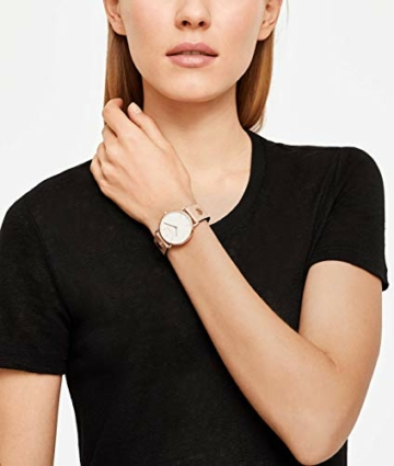 Liebeskind Berlin Damen Analog Quarz Uhr mit Edelstahl Armband - 6