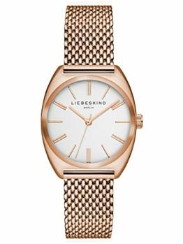 Liebeskind Berlin Damen Analog Quarz Uhr mit Edelstahl Armband LT-0051-MQ - 1