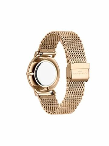Liebeskind Berlin Damen Analog Quarz Uhr mit Edelstahl Armband LT-0169-MQ - 4