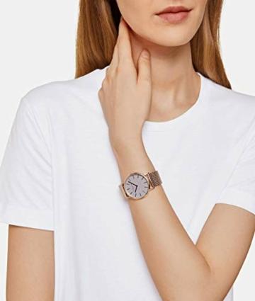 Liebeskind Berlin Damen Analog Quarz Uhr mit Edelstahl Armband LT-0169-MQ - 6