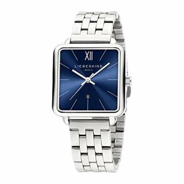 Liebeskind Berlin Damen Analog Quarz Uhr mit Edelstahl Armband LT-0182-MQ - 2