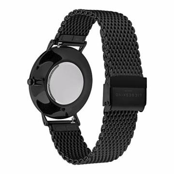 Liebeskind Berlin Damen Analog Quarz Uhr mit Edelstahl Armband LT-0190-MQ - 4