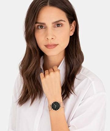 Liebeskind Berlin Damen Analog Quarz Uhr mit Edelstahl Armband LT-0200-MQ - 4