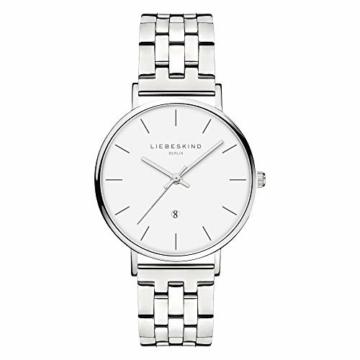 Liebeskind Berlin Damen Analog Quarz Uhr mit Edelstahl Armband LT-0211-MQ - 1