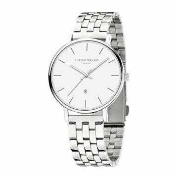 Liebeskind Berlin Damen Analog Quarz Uhr mit Edelstahl Armband LT-0211-MQ - 2