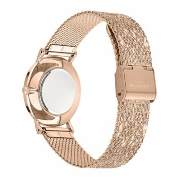 Liebeskind Berlin Damen Analog Quarz Uhr mit Edelstahl Armband LT-0219-MQ - 4