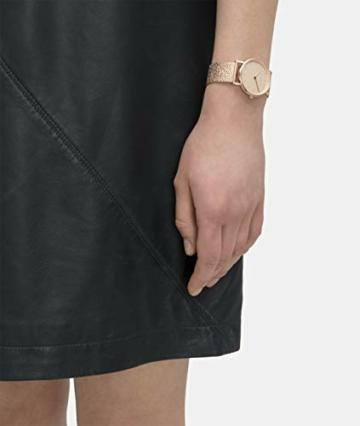 Liebeskind Berlin Damen Analog Quarz Uhr mit Edelstahl Armband LT-0219-MQ - 6