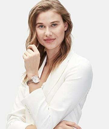 Liebeskind Berlin Damen Analog Quarz Uhr mit Edelstahl Armband LT-0239-MQ, IP roségold - 3
