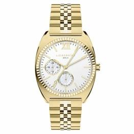 Liebeskind Berlin Damen Analog Quarz Uhr mit Edelstahl Armband LT-0260-MM - 1