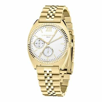 Liebeskind Berlin Damen Analog Quarz Uhr mit Edelstahl Armband LT-0260-MM - 2