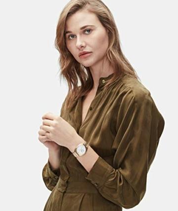 Liebeskind Berlin Damen Analog Quarz Uhr mit Edelstahl Armband LT-0260-MM - 5