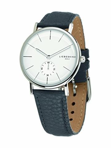 Liebeskind Berlin Damen Analog Quarz Uhr mit Leder Armband - 2