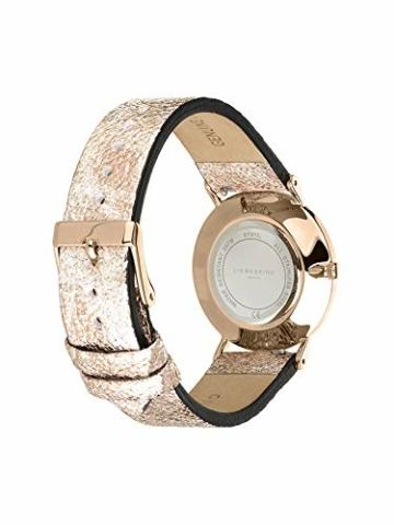 Liebeskind Berlin Damen Analog Quarz Uhr mit Leder Armband - 3