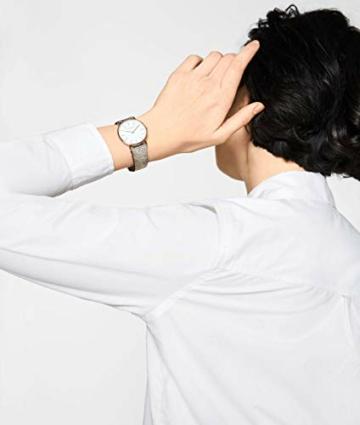 Liebeskind Berlin Damen Analog Quarz Uhr mit Leder Armband - 5