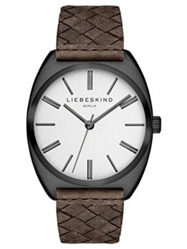 Liebeskind Berlin Damen Analog Quarz Uhr mit Leder Armband LT-0049-LQ - 1