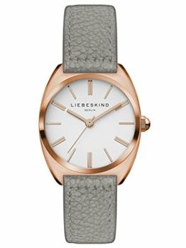 Liebeskind Berlin Damen Analog Quarz Uhr mit Leder Armband LT-0053-LQ - 1