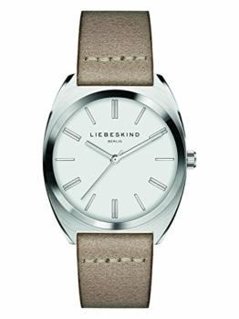 Liebeskind Berlin Damen Analog Quarz Uhr mit Leder Armband LT-0073-LQ - 1