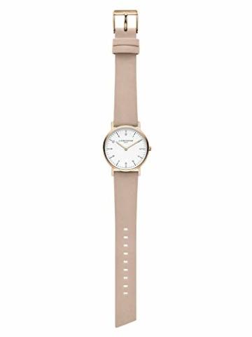 Liebeskind Berlin Damen Analog Quarz Uhr mit Leder Armband LT-0166-LQ - 5
