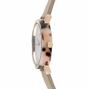 Liebeskind Berlin Damen Analog Quarz Uhr mit Leder Armband LT-0184-LQ - 3