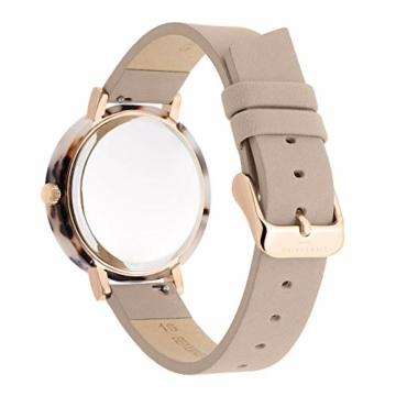 Liebeskind Berlin Damen Analog Quarz Uhr mit Leder Armband LT-0184-LQ - 4