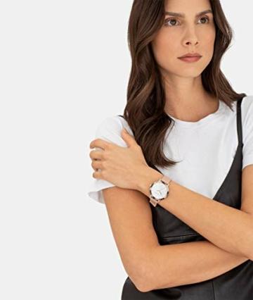 Liebeskind Berlin Damen Analog Quarz Uhr mit Leder Armband LT-0184-LQ - 5