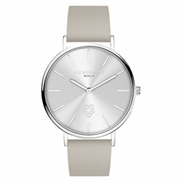 Liebeskind Berlin Damen Analog Quarz Uhr mit Leder Armband LT-0254-LQ - 1