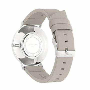 Liebeskind Berlin Damen Analog Quarz Uhr mit Leder Armband LT-0254-LQ - 4