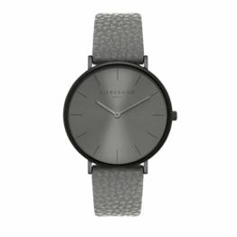 Liebeskind Berlin Damen Analog Quarz Uhr mit Leder Armband LT-0256-LQ - 1