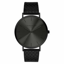 Liebeskind Berlin Damen Analog Quarz Uhr mit Sneakoptik Armband - 1