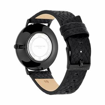 Liebeskind Berlin Damen Analog Quarz Uhr mit Sneakoptik Armband - 4